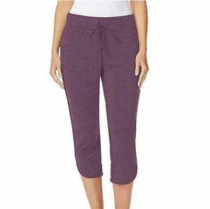 🆕️Ladies' Soft Fleece Knit Capri Pants